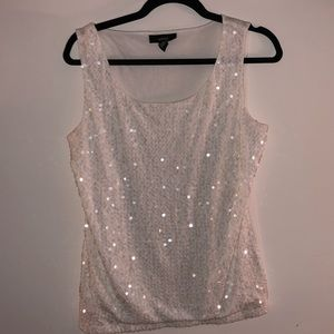 Alfani sequin tank top